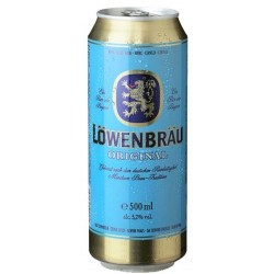Lager Beer Löwenbräu Original