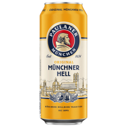 Lager Beer Paulaner...