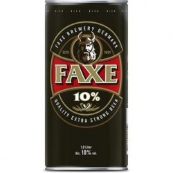 Lager Beer Faxe 10% Extra...